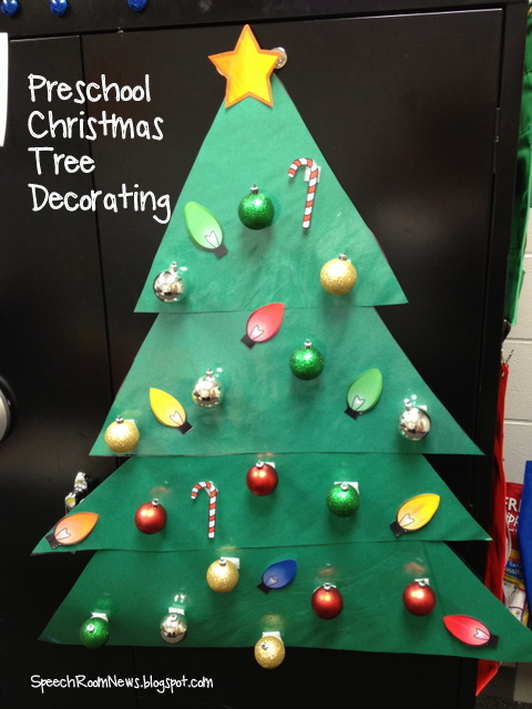O Christmas Tree, Preschool Christmas Tree. - Speech Room News