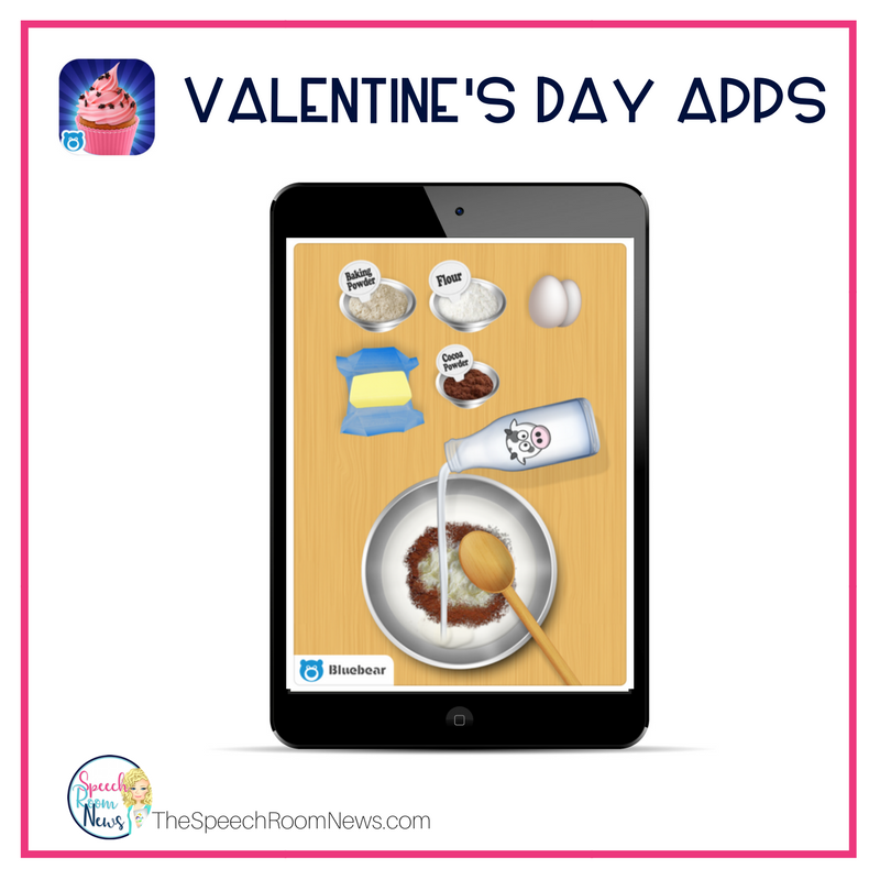 Valentine's Day Cupcake Making App