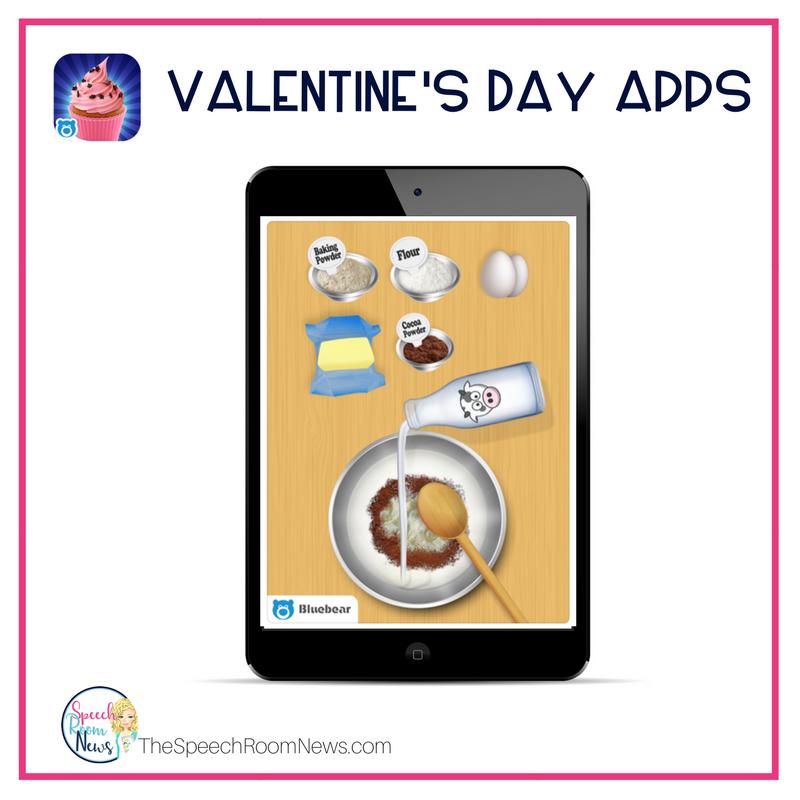 Valentine's Day Cupcake Making App