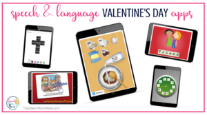 Apps for speech and language therapy for valentine's day