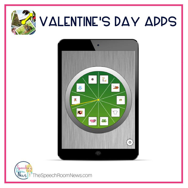 Valentine's Day Spinner App