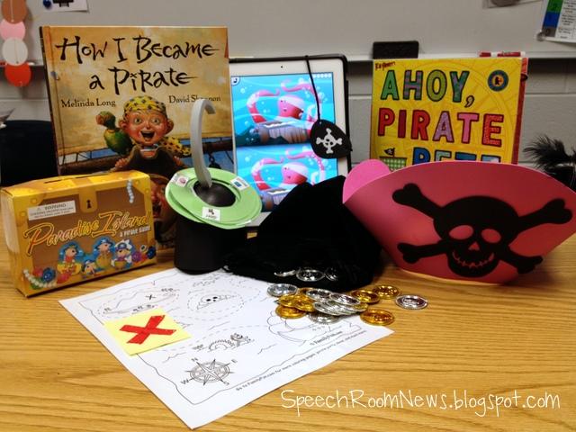 Preschool Pirates - Speech Room News