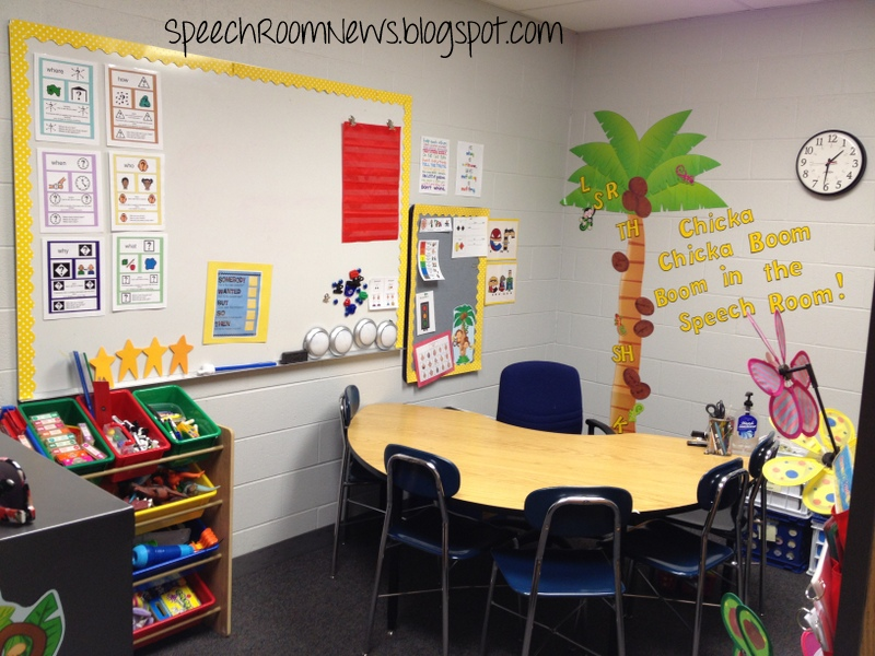 Chicka Chicka Boom Boom Welcome To My Speech Room