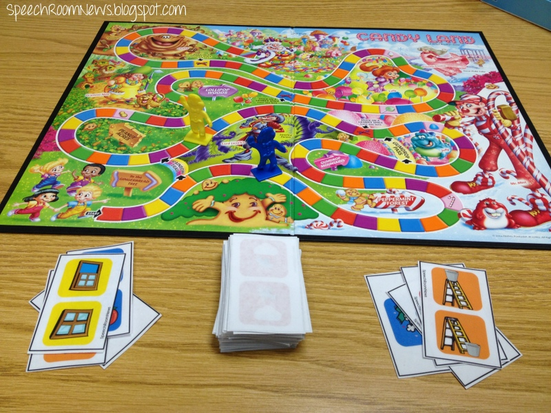 photograph relating to Printable Candyland Cards named Sweet Land Language PRESCHOOL Version. - Speech House Information
