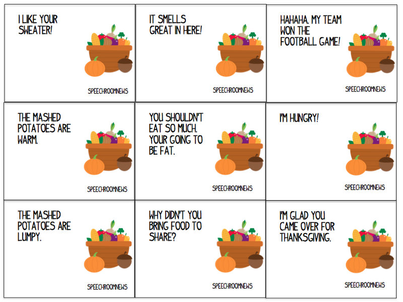 thanksgiving worksheet elementary
