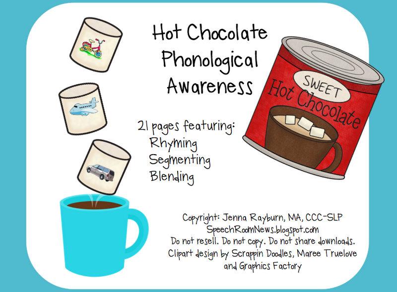 Hot Chocolate: Categories, Phonological Awareness {& Freebie ...