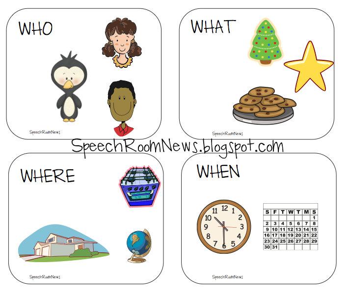 Winter Expressive And Receptive Language Speech Room News