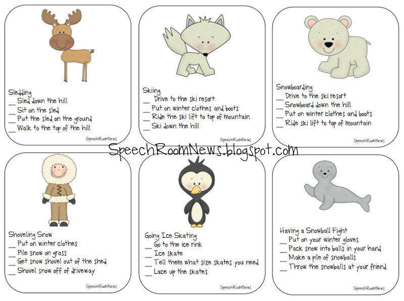 Arctic Animals Worksheets For Kids Arctic animals: sequencing 18