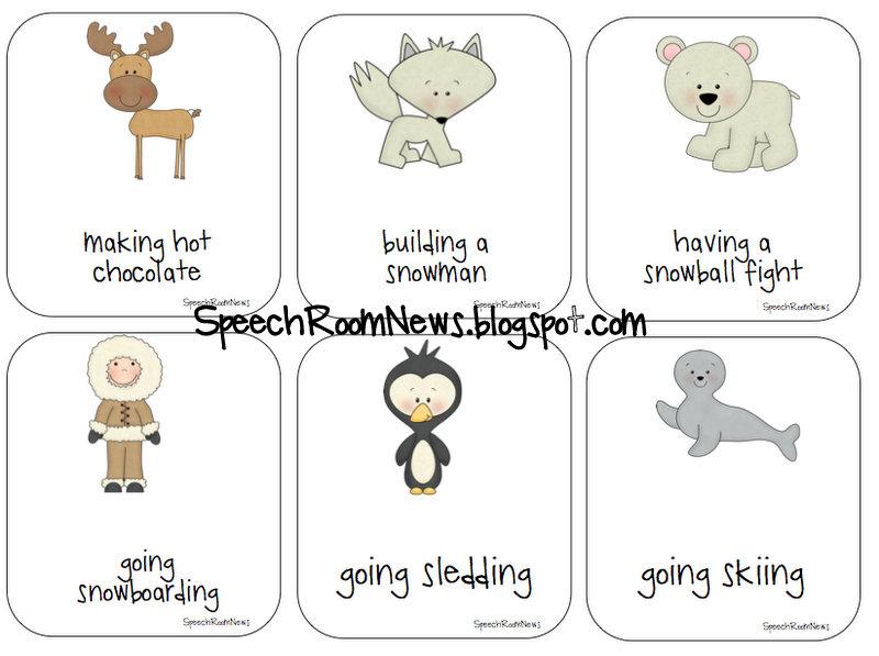 Winter Expressive and Receptive Language - Speech Room News
