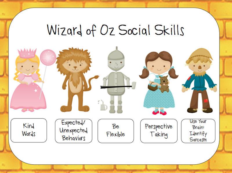 Yellow Brick Road Social Skills - Speech Room News