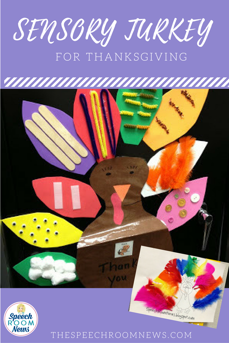 Sensory Turkey for Speech Therapy