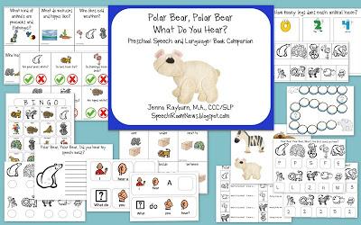 polar bear themed printables label the polar bear body parts the bear ...