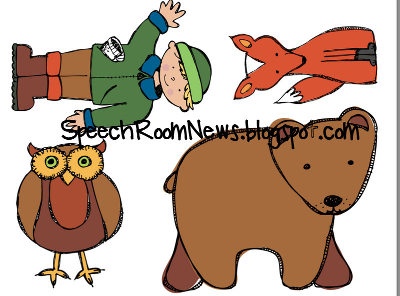 picture about The Mitten Animals Printable named The Mitten: Preschool Product - Speech Place Information