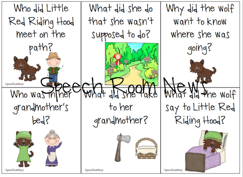 photo relating to Little Red Riding Hood Story Printable named Small Pink Driving Hood: Ebook Lover - Speech Place Information