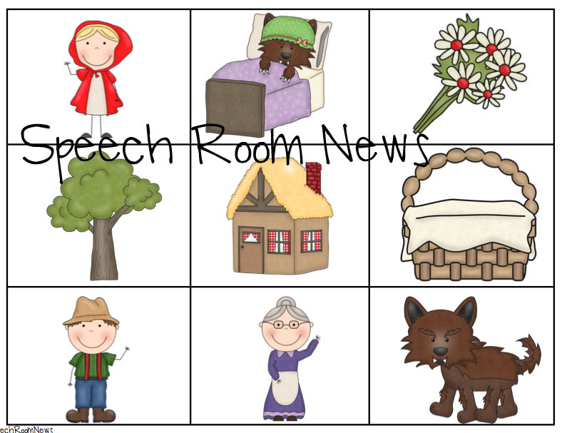 Little Red Riding Hood Book Companion Speech Room News