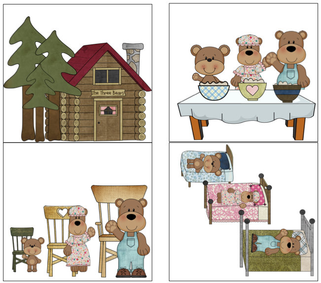Goldilocks & the 3 Bears: Book companion - Speech Room News