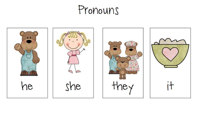 math worksheet : goldilocks  the 3 bears book panion  speech room news : Kindergarten Pronoun Worksheets