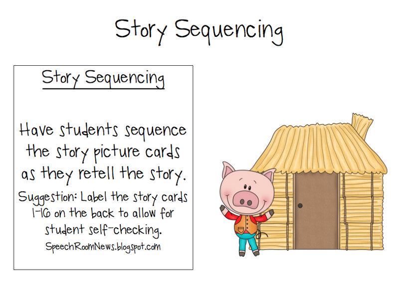 Three Little Pigs Preschool Book Companion Speech Room News