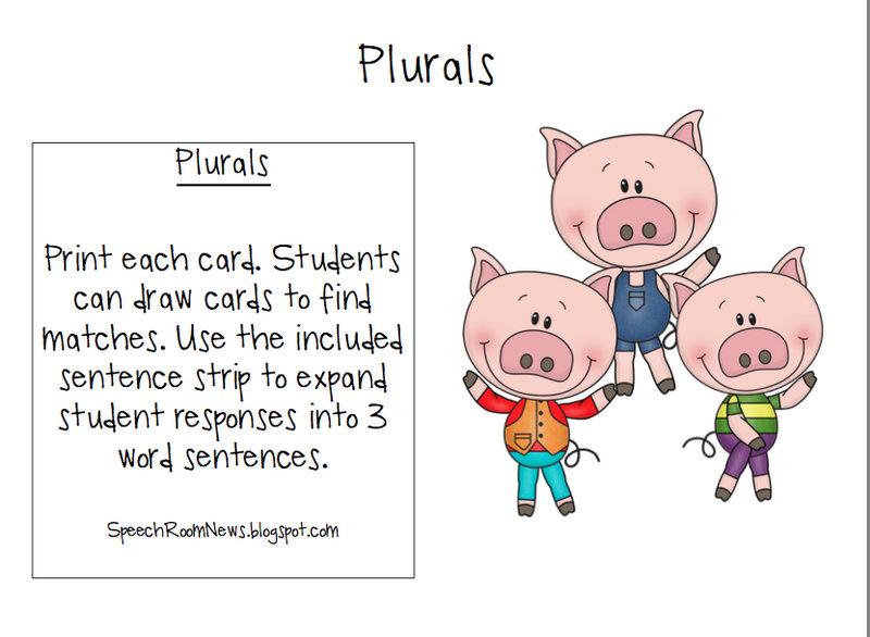 Three Little Pigs Preschool Book Companion - Speech Room News