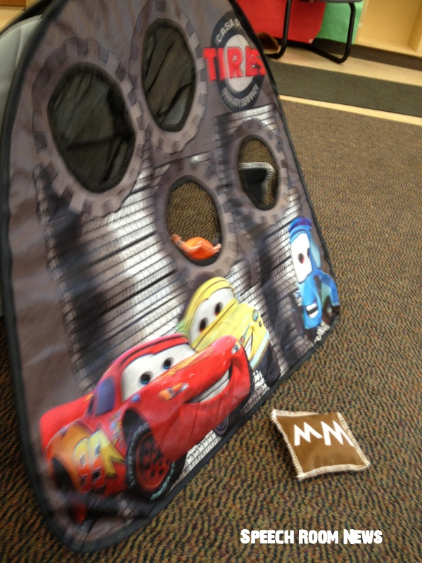 I Scored The Letter Bean Bags At Teacher Garage Sale But They Are Originally From Lakeshore Got Cars 2 Bag Toss Game Goodwill