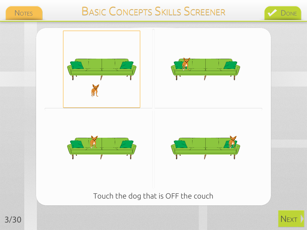 Basic Concepts Skills Screener {App Review & Giveaway