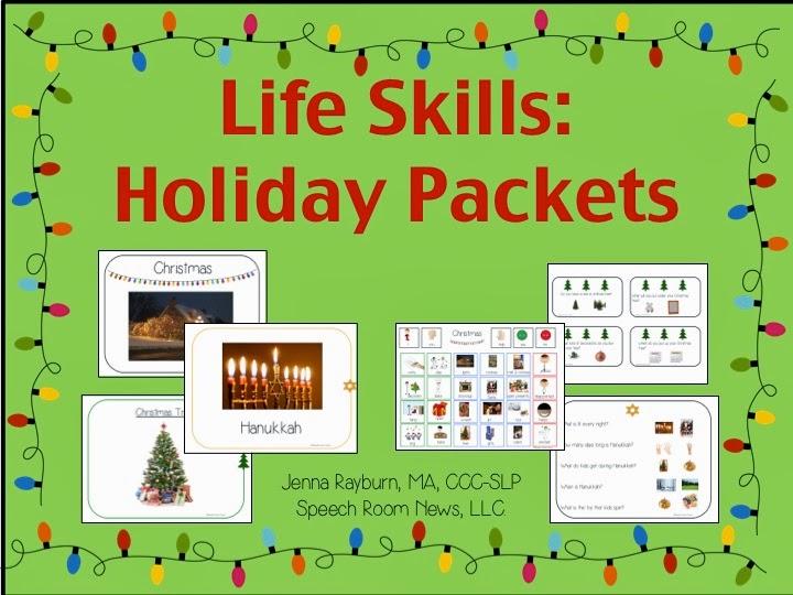 life skills holiday activities speech room news