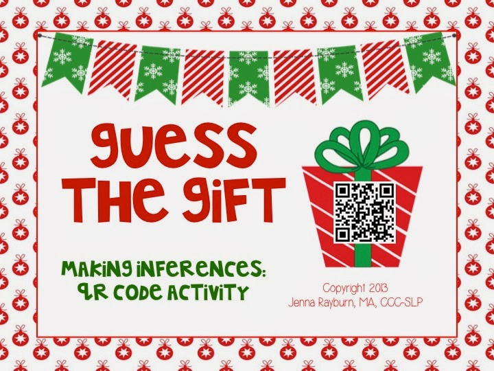 Guess The Gift Inference Activity Speech Room News