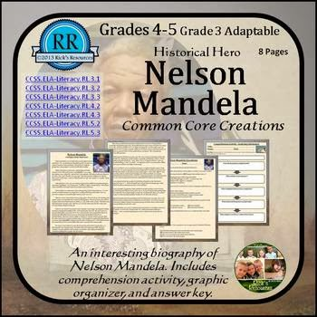 """nelson mandela vocabulary comprehension essay Reading an informational text """"it all started with  then write an essay in which you explain  reading an informational text """"it all started with sputnik."""