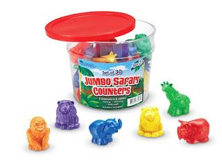 Jumbo Safari Counters {Review & Giveaway}