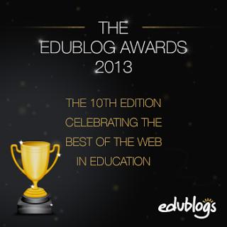 Edublog 2013 nominations