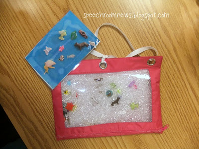 Articulation Eye Spy Bags