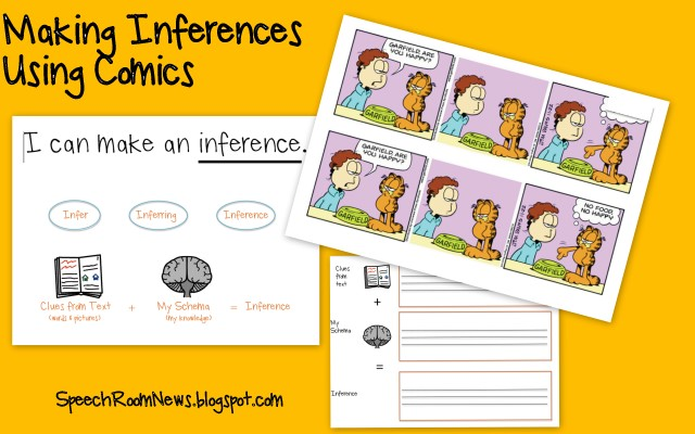 Using Comics for Inferences