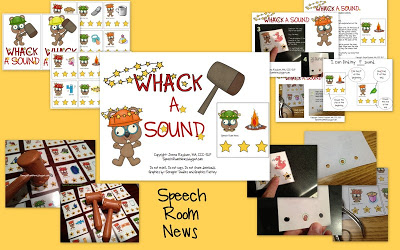Whack a Sound: K,G,F, S {Freebie Included!)