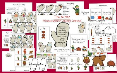 The Mitten: Preschool Unit