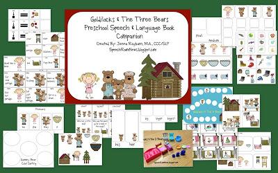 Goldilocks & the 3 Bears: Book companion
