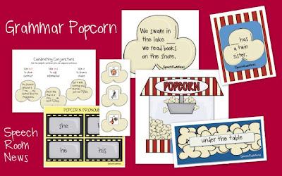 Grammar Popcorn