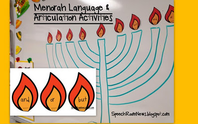 Menorah Therapy Activities
