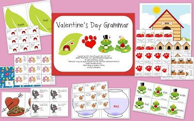 Valentine's Day Grammar & Social Skills