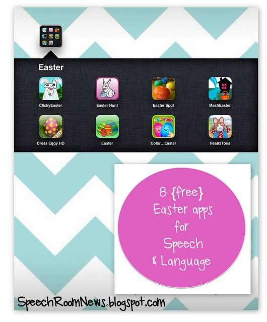 8 Easter Apps for the Speech Room