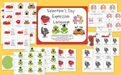 Valentine's Day Receptive/Expressive Language