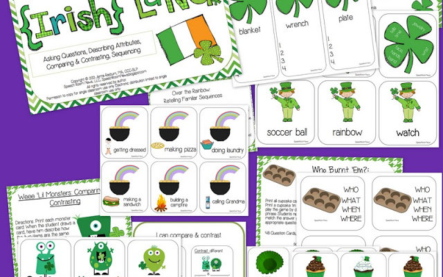Expressive Language for St. Patty!
