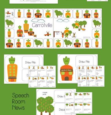 Carrotville: Spring Grammar Games