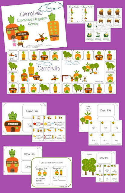 Carrotville Expressive Language (& a giveaway)