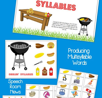 Grillin' Syllables {with giveaway}
