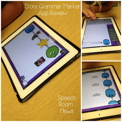 Story Grammar Marker {App Review & Giveaway}