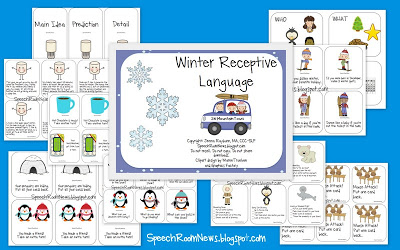 Winter Expressive and Receptive Language