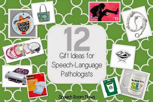 12 SLP Gift Ideas