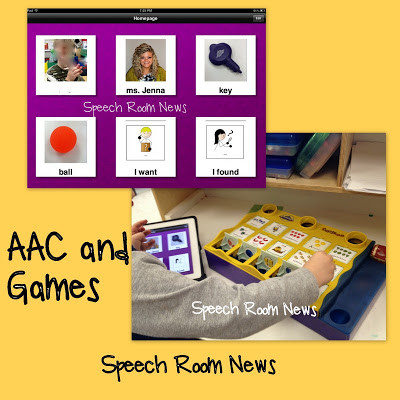 iPad AAC + Games.