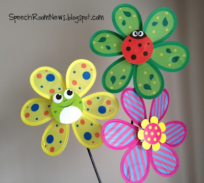 Speech & Language Pinwheels