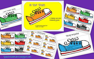 'In Your Shoes' pragmatic language activity